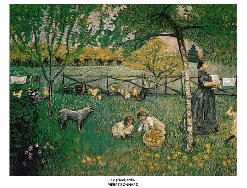 Le grand jardin – Pierre Bonnard