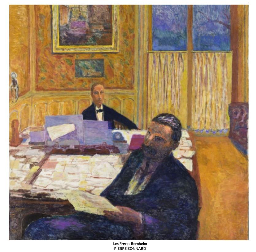Les Frères Bernheim – Pierre Bonnard