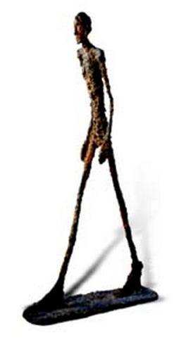 L'homme qui marche - 1947 - Alberto Giacometti