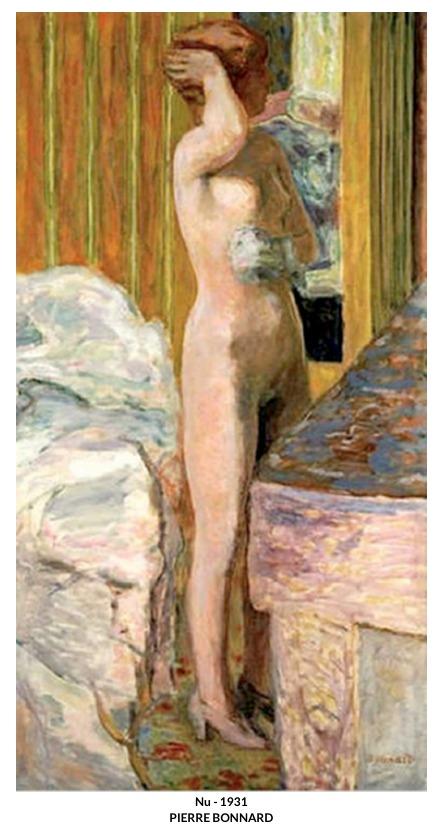 Nu – 1931 – Pierre Bonnard