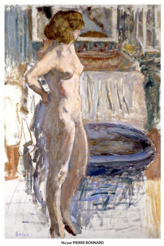 Nu – Pierre Bonnard