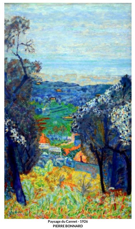 Paysage du Cannet – Pierre Bonnard