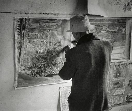 Pierre Bonnard dans son atelier - 1946