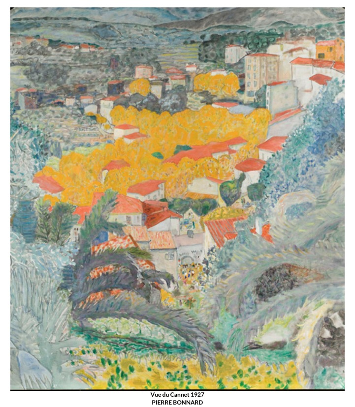 Vue du Cannet – Pierre Bonnard
