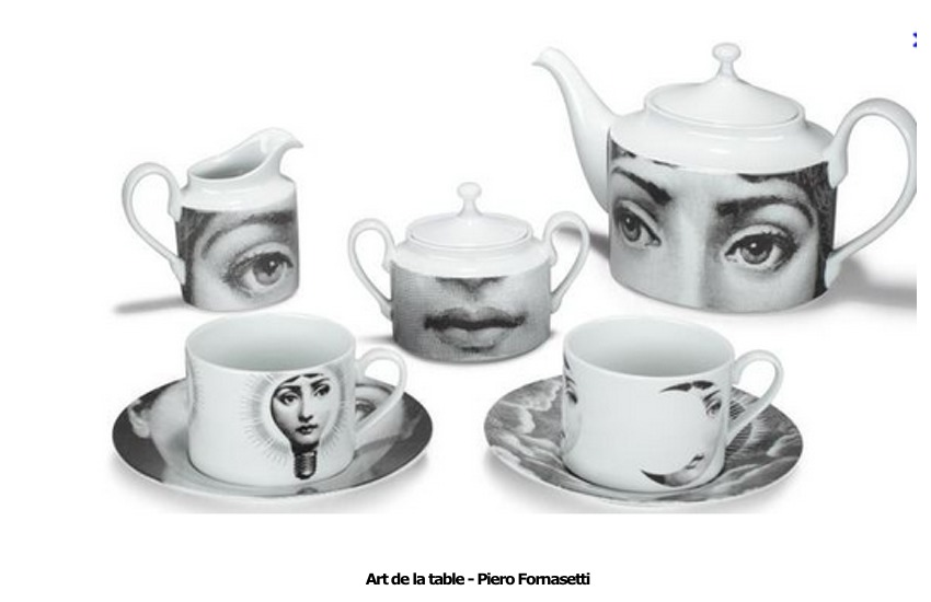 Art de la table – Piero Fornasetti