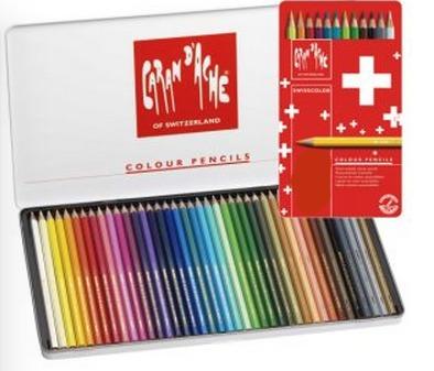 Caran d'Ache Colour Pencils