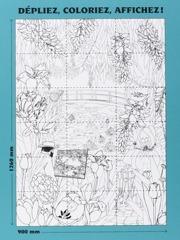 Jardin impressionniste - Coloriage Poster