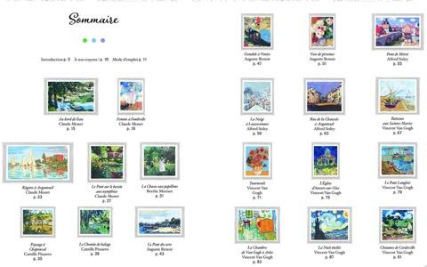 Les impressionnistes - Coloriage - De Monet à Van Gogh