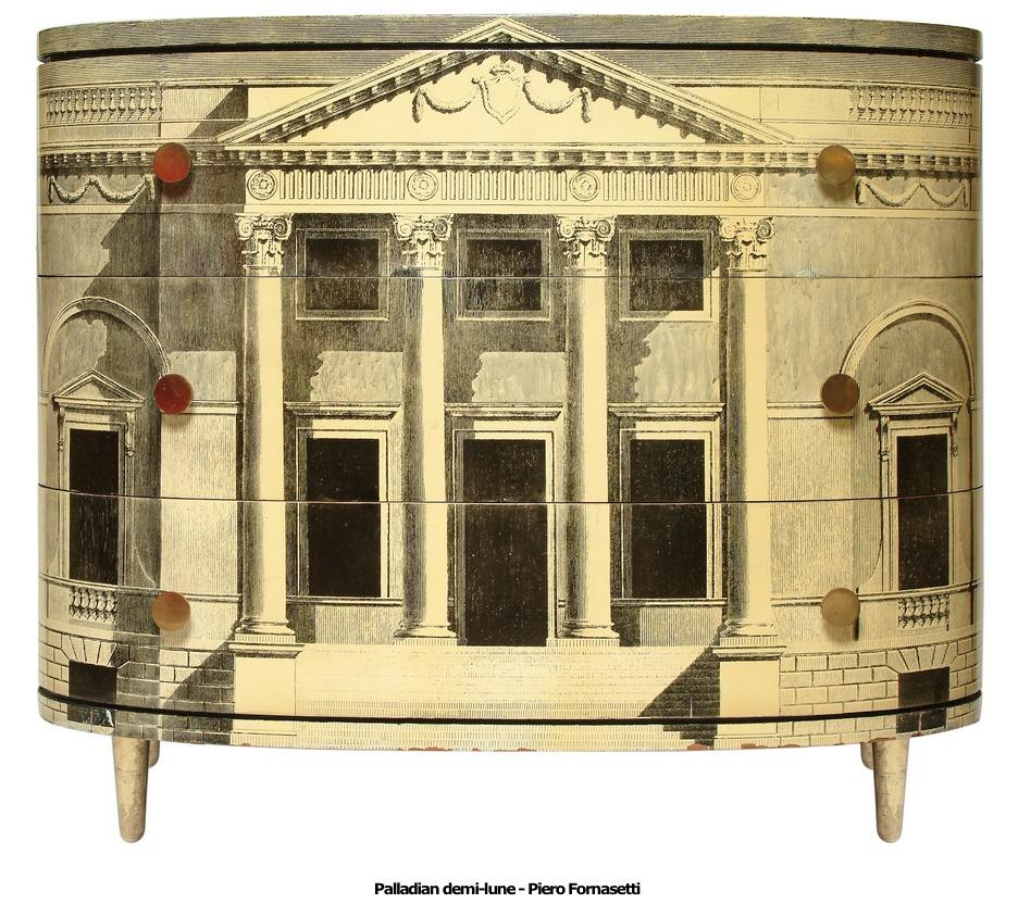 Palladian demi-lune – Piero Fornasetti