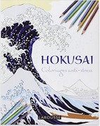 Hokusai - Inspiration coloriage