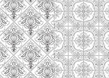 Mosaiques - Azylejos - Créativité - Coloriage