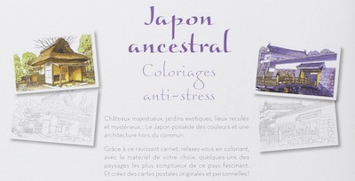 Paysages du Japon - Coloriage