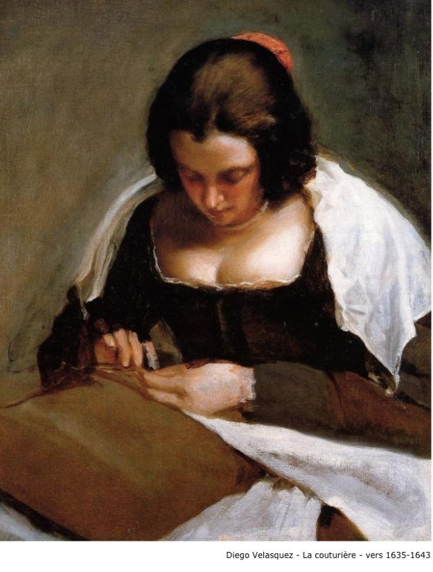 Diego Velasquez – La couturière – vers 1635-1643