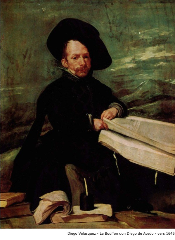 Diego Velasquez – Le bouffon don Diego de Acedo – vers 1645