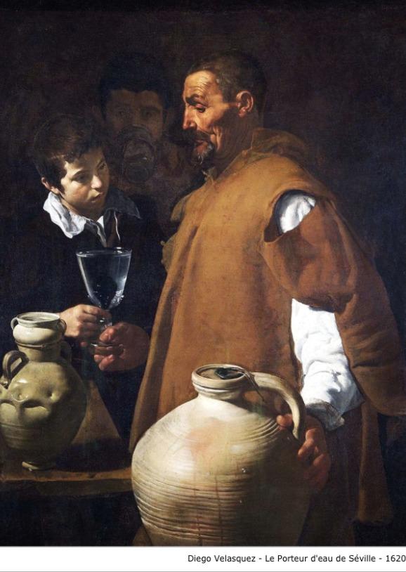 Diego Velasquez – Le porteur d'eau de Séville – 1620
