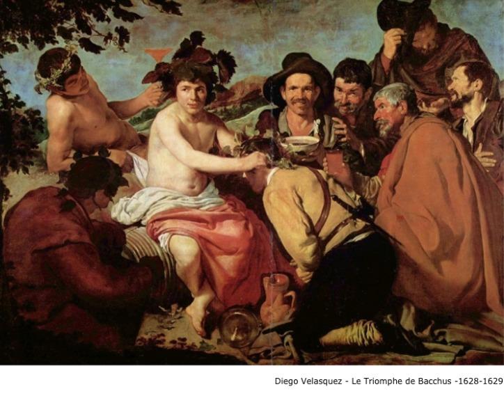 Diego Velasquez – Le triomphe de Bacchus – 1628-1629