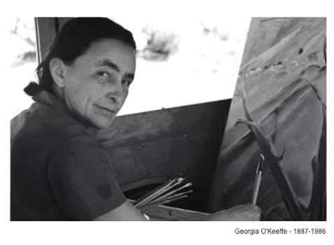 Georgia O'Keeffe - 1887-1986