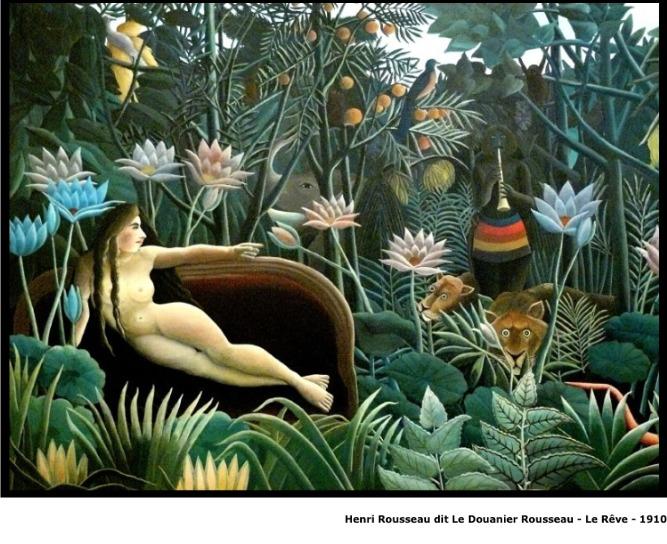 Henri Rousseau dit Le Douanier Rousseau – Le rêve – 1910