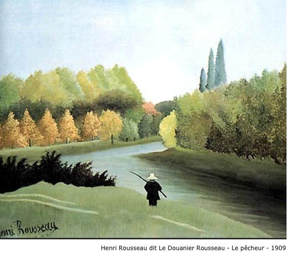 Henri Rousseau dit Le Douanier Rousseau – Le pêcheur – 1909