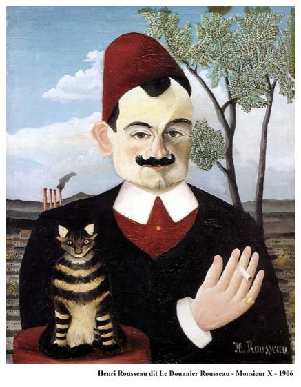 Henri Rousseau dit Le Douanier Rousseau – Monsieur X – 1906