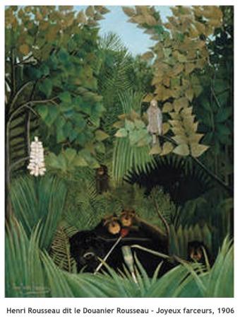 Henri Rousseau dit Le Douanier Rousseau – Joyeux farceurs – 1906