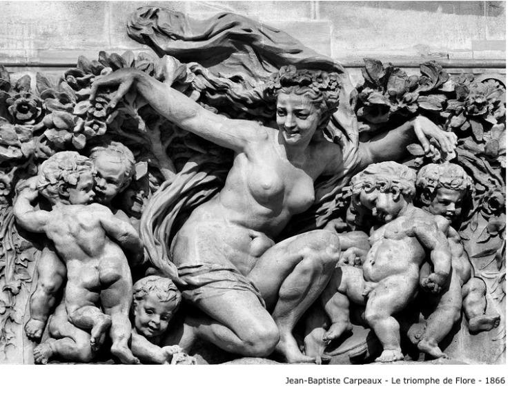 Jean-Baptiste Carpeaux – Le triomphe de flore – 1866