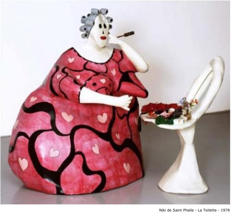Niki de Saint Phalle – La Toilette, 1978