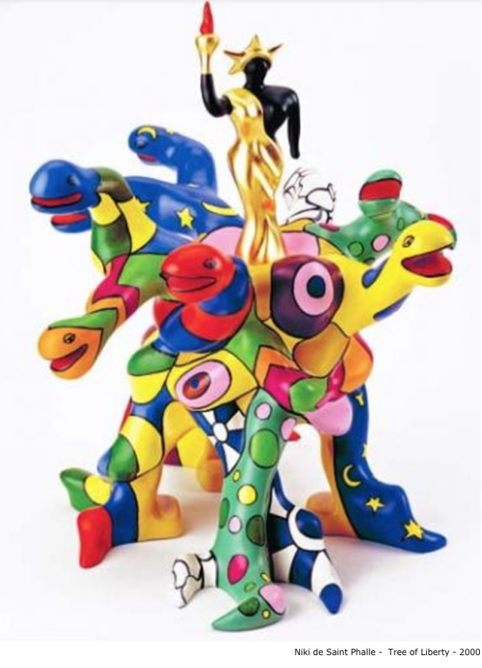 Niki de Saint Phalle – Tree of liberty, 2000