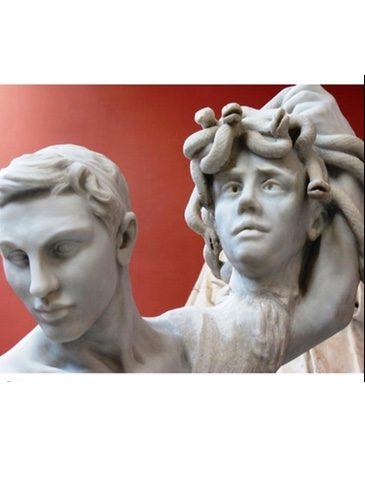 Camille Claudel - Sculpture détail - Persée et Gorgone
