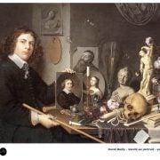 David Bailly - Vanité au portrait - Vers 1650 - Peinture Baroque