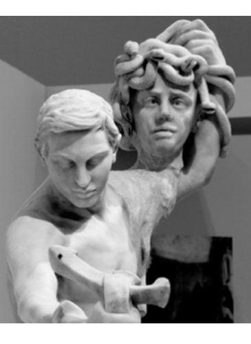 Détail - Sculpture Camille Claudel - Persée et Gorgone