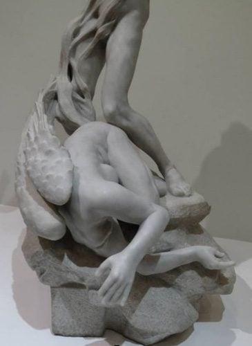 Détail Persée et Gorgone par Camille Claudel