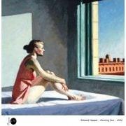 Edward Hopper - Morning sun - 1952 - Peinture - Réalisme