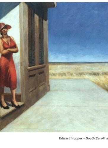 Edward Hopper - South Carolina morning - 1955 - Peinture - Réalisme