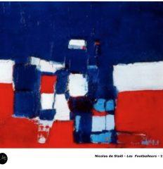 Nicolas de Staël – Les footballeurs – 1952 – Art-Abstrait-Peinture