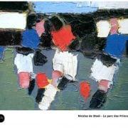 Nicolas de Staël - Le parc des Princes-1952 - Peinture Art Abstrait
