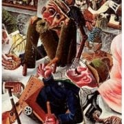 Otto Dix - La rue de Prague - 1920 - Art - Expressionnisme - Peinture