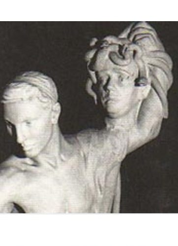Persée et Gorgone par Camille Claudel - Détail