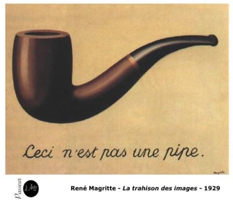 René Magritte - La trahison des images - 1929 - Peinture surréalisme