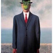 René Magritte - Le fils de l'homme - 1964 - Peinture -Surréalisme
