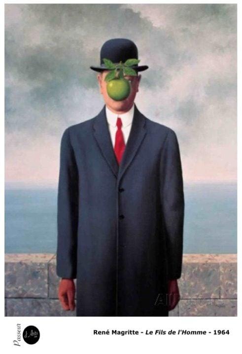 René Magritte, le fils de l'homme. Peinture-Surréalisme