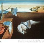 Salvador Dalí - Les montres molles - 1931 - New-York-Moma - Peinture Art Surréalisme