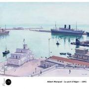 Albert Marquet - Le port d Alger - 1941