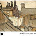 Albert Marquet – Les toits de Paris – 1906