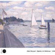 Albert Marquet - Régates à la Mailleraye - 1926