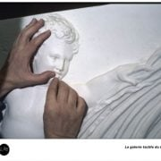 La galerie tactile du musée du Louvre - Art-Accessibilité-Handicap