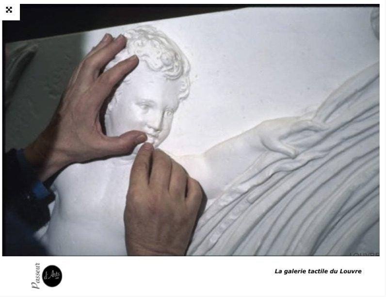 Touchez et écoutez de l'art!