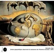 Salvador Dali - Enfant géopolitique observant la naissance de l'homme nouveau-1943 - Surréalisme