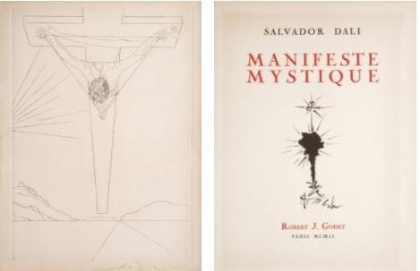 Salvador Dalí - Manifeste mystique