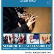 Semaine de l'accessibilité 2016 - Musée du Quai Branly - Handicap